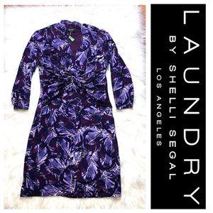 Laundry By Shelli Segal Stretch Floral Dress SZ.10